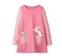 Платье для девочки Кролик и зайчик