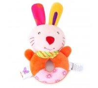 Мягкая погремушка Кролик