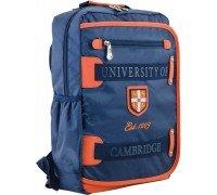 Рюкзак подростковый синий 29 * 43 * 12