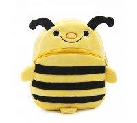Рюкзак велюровый Пчелка, большой
