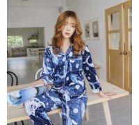 Пижама женская Blue whale