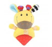 Мягкая игрушка - прорезыватель Желтая коровка