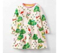Платье для девочки Поляна