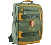 Рюкзак подростковый зеленый 29 * 43 * 12
